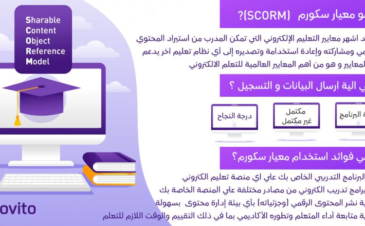 ما هو معيار SCORM في التعليم الألكتروني