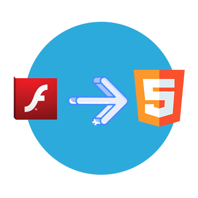 flash html elearning conversion
